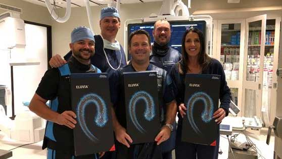 INTEGRIS Heart Hospital Second in Country and First in Oklahoma  to Implant Eluvia™ Drug-Eluting Vascular Stent System