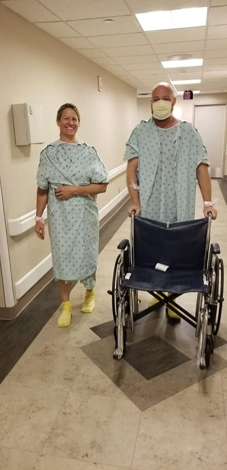Dustin and Anna headed to surgery