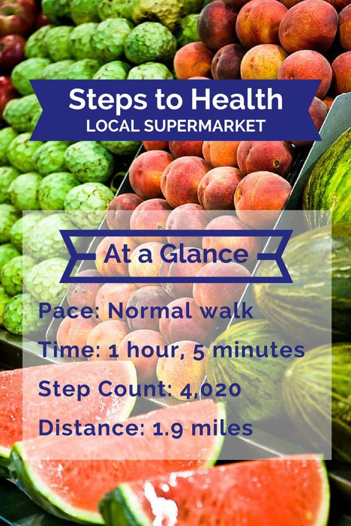 supermarket steps to health
