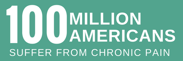 100 million american suffer from chronic pain